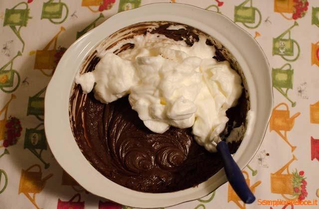 Tortino cioccolato e nocciole
