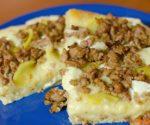 pizza con salsiccia e patate