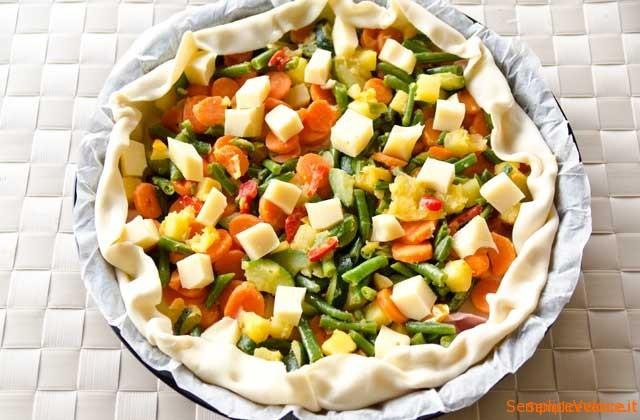 sfoglia con verdure