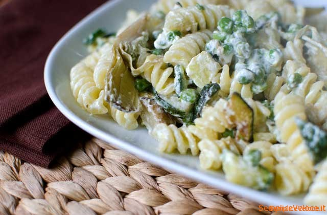 Fusilli gustosi all'ortolana