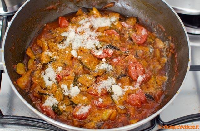 pasta con verdure miste