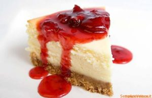 cheesecake con marmellata