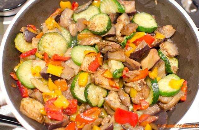 Polpettone ripieno di verdure
