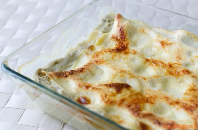 Lasagne carciofi e speck