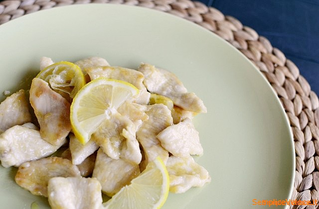 Pollo al limone
