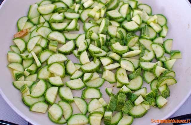 Polpettone ripieno di zucchine