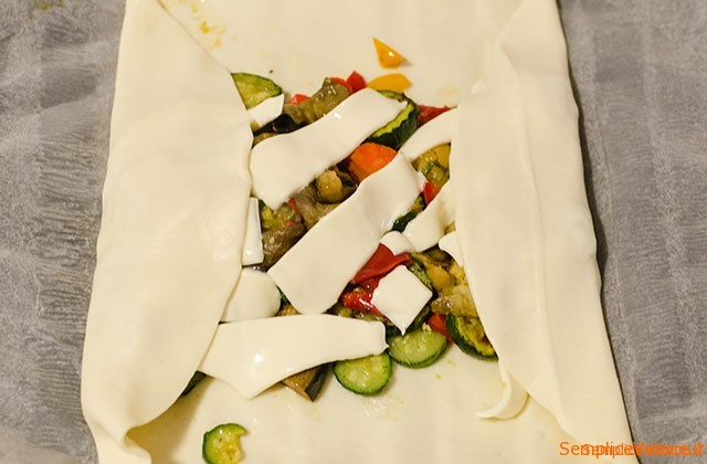 Strudel con verdure miste
