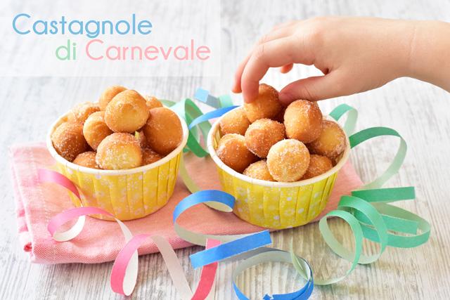 castagnole per buffet Carnevale