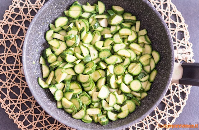 Frittata leggera con zucchine cotta al forno