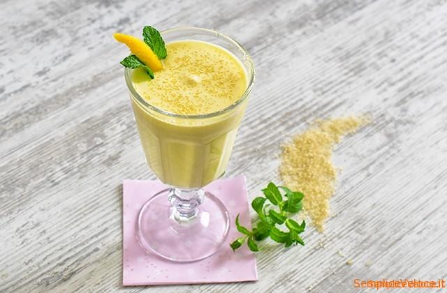 Crema dessert al mango