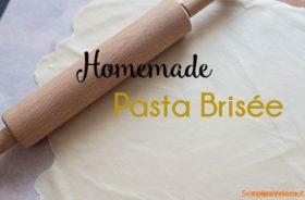Pasta Brisee fatta in casa