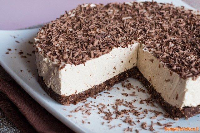 Estremamente Cheesecake al caffè senza cottura ricetta semplice e veloce XL74