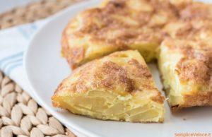 Tortilla de patatas la frittata di patate spagnola_ricette_veloce_Semplice