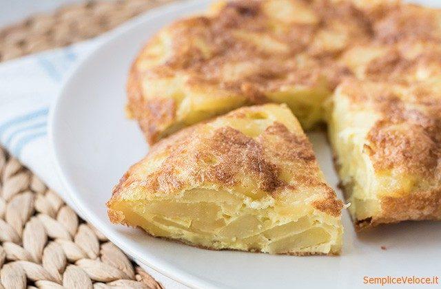 Tortilla de patatas la frittata di patate spagnola