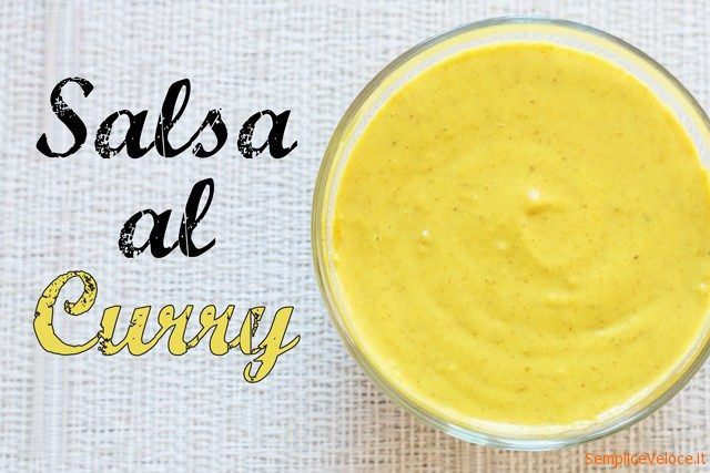 Salsa al curry_ricetta
