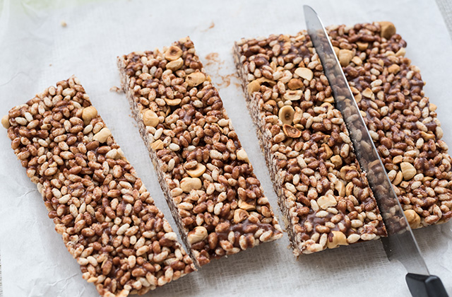 Ciocorì barrette di riso soffiato