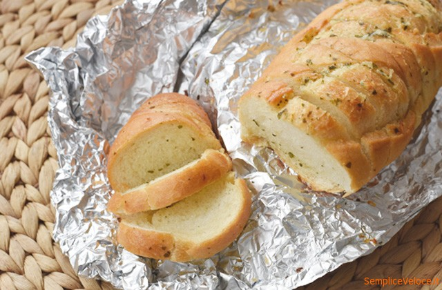 Pane all'aglio ricetta americana – Garlic Bread