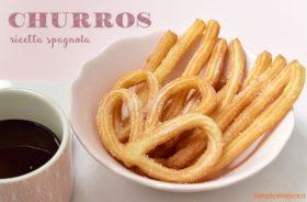 Churros Spagnoli bastoncini fritti