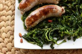 Salsicce e friarielli alla napoletana