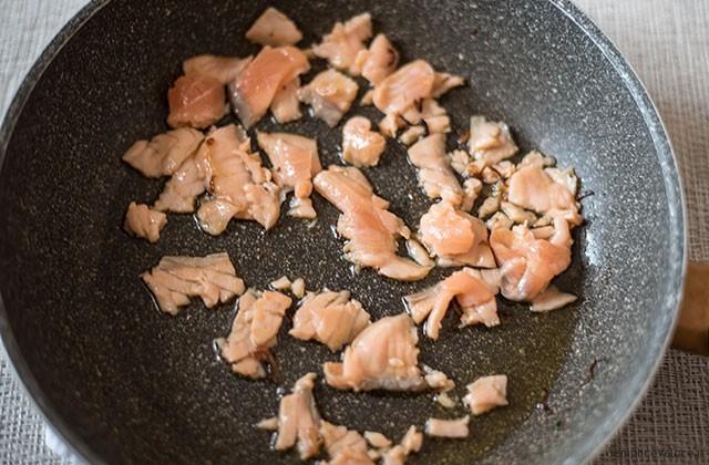 Pasta al salmone senza panna