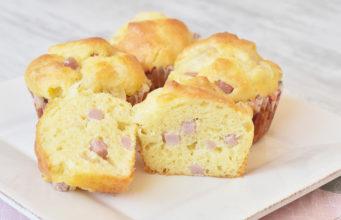 Muffins_salati_al_prosciutto_ricetta_Semplice