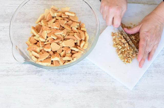 Torta di biscotti e cioccolato senza cottura