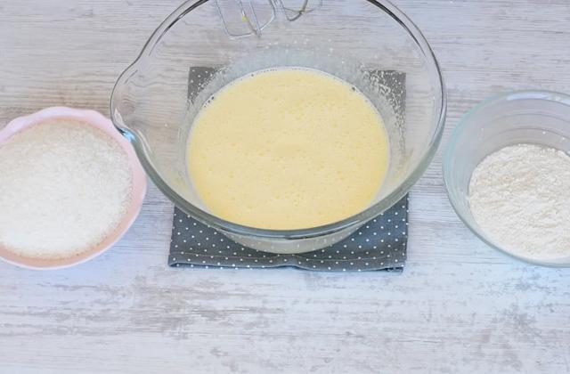 Torta cocco e Nutella semplice e veloce