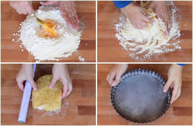 Crostata alla nutella ricetta